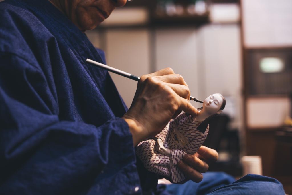 """""""Hakata-ningyo"""" – traditional doll in Fukuoka"""