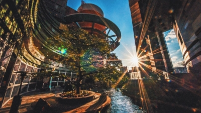 Canal City Hakata – the colorful mall in Fukuoka